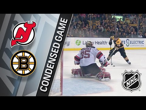 01/23/18 Condensed Game: Devils @ Bruins