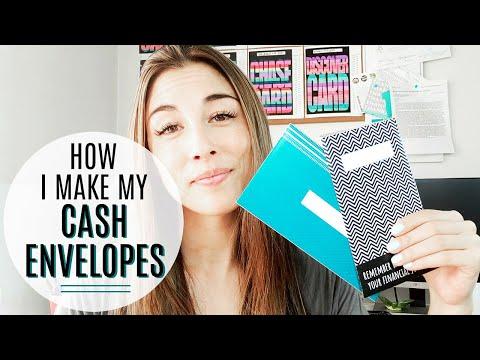 How I Make My Cash Envelopes