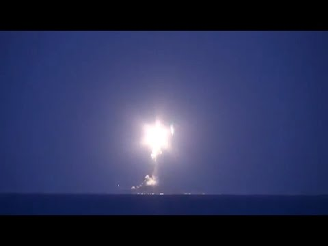 Massive strike with precision weapons on targets in Syria LIH of the Caspian Sea