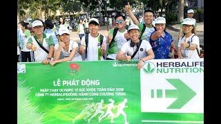 Ngày chạy Olympic vì sức khoẻ toàn dân 2018 | Herbalife Việt Nam
