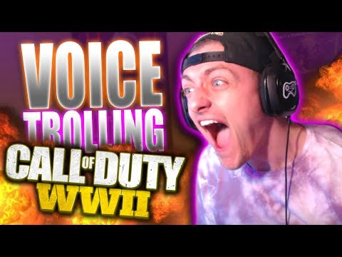SQUEAKER VOICE CHANGER vs TRASH TALKERS on WW2! (Amazing Reactions!)