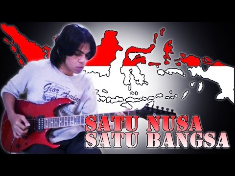 Satu Nusa Satu Bangsa Guitar Cover Versi Rock Reggae By Mr. Jom