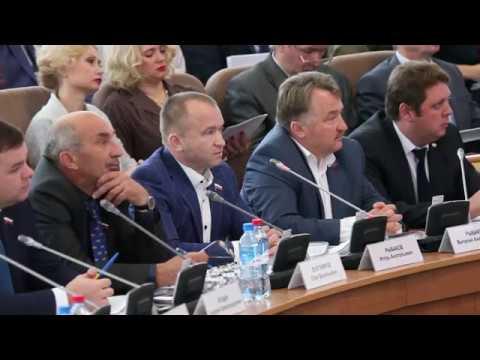 Клычков А.Е отвечает на прямой вопрос о давлении на депутатов