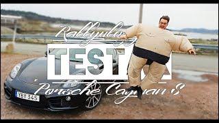 PORSCHE CAYMAN S | RALLYVLOGGEN TEST