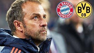 4:0-Sieg! FC Bayern Pressekonferenz mit Hansi Flick nach dem Erfolg gegen  Dortmund