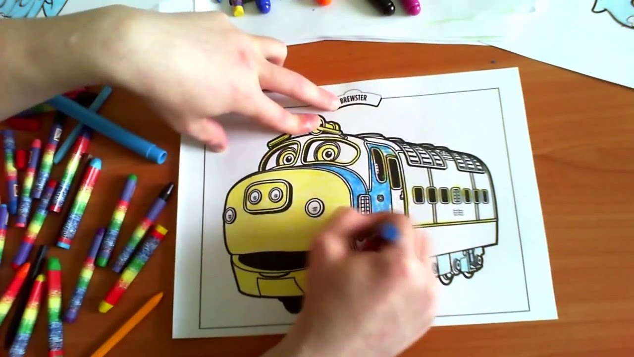 Chuggington New Coloring Pages for Kids Colors trains Coloring ...