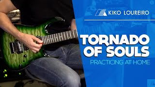 Tornado of Souls - Practicing at home
