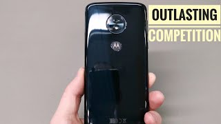 Moto G6 Play - Outlasting Competition
