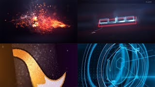 Top-30 logo Template Free After Effects #3 ✨