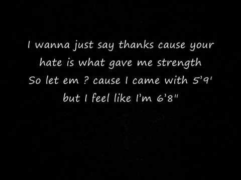 Eminem (Feat.  Bruno Mars)  -  Lighters (Lyrics)
