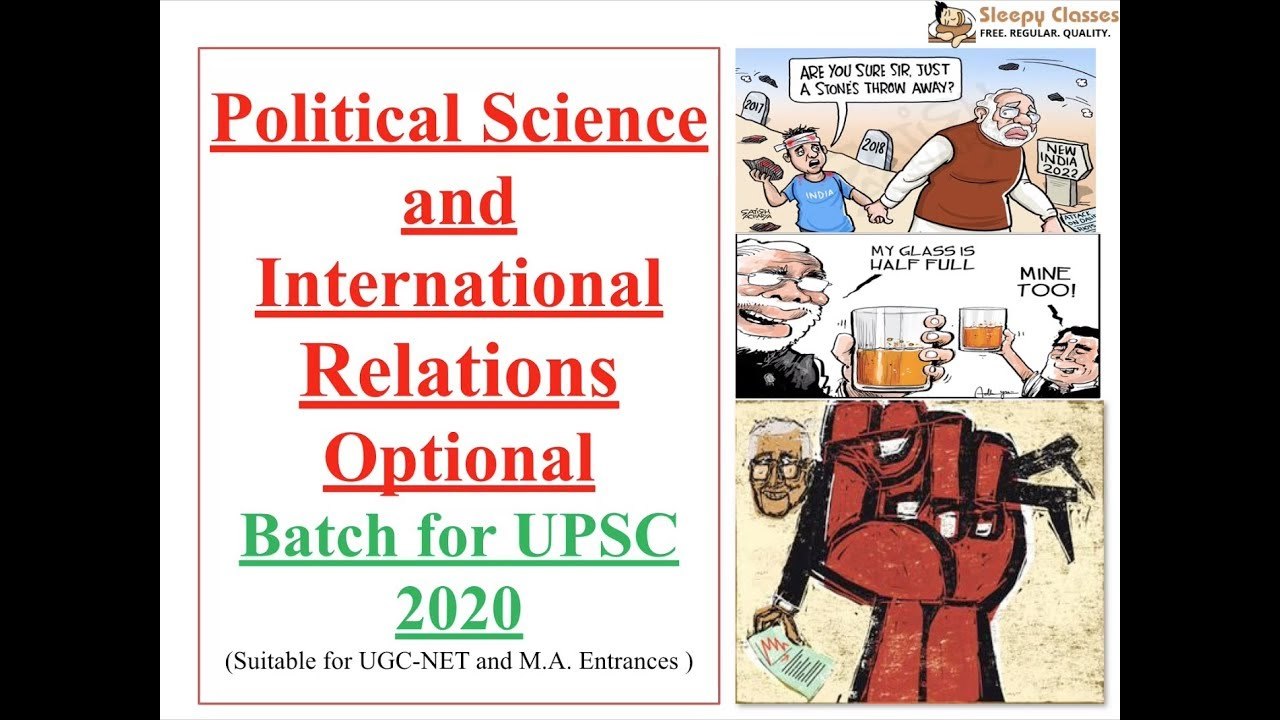 Optional Course for UPSC 2020- Political Science and International