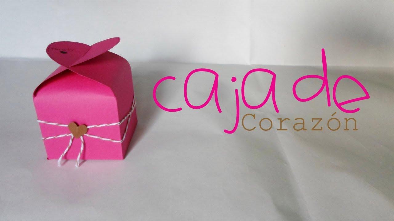 Caja de coraz n paper crafting san valentin youtube - Corazones de san valentin ...