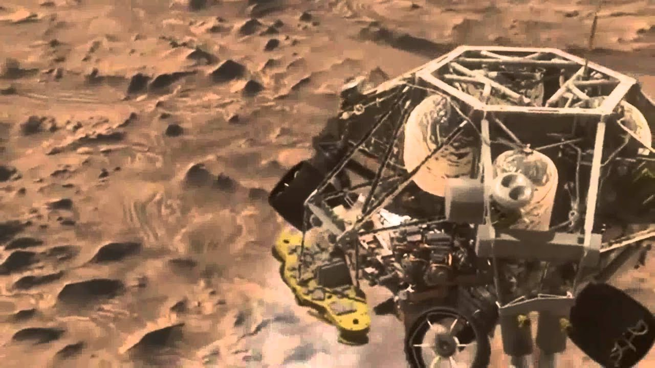 mars curiosity rover landing animation - photo #37