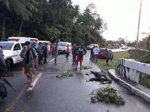 Breaking New: Ambush sa bayan ng Daguit, Labo, Camarines Norte December 2, 2017
