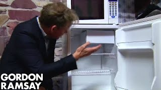 Gordon Ramsay Finds Mold in His Fridge | Hotel Hell