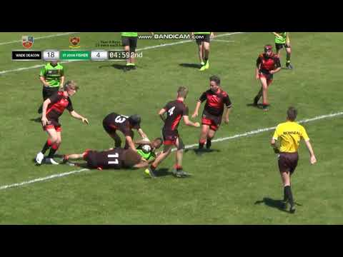 Schools Year 8 Final Wade Deacon V John Fisher Pt4