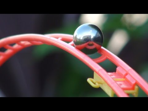 Marble Run in the Garden