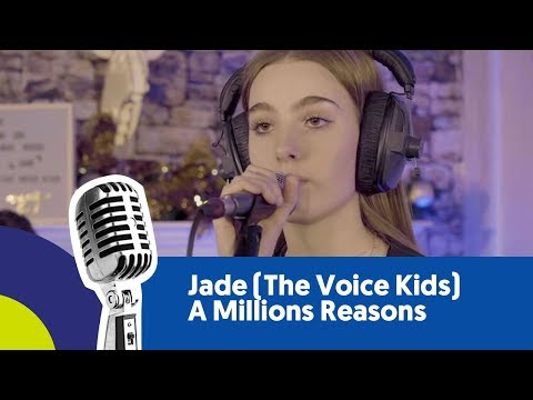 Jade (The Voice Kids) - A Millions Reasons (cover) (live bij Joe)