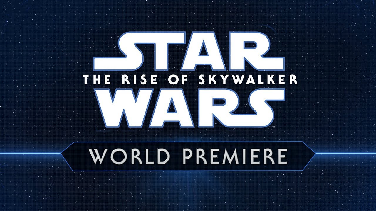 Live From The Red Carpet Of Star Wars The Rise Of Skywalker Youtube