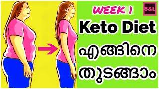 LCHF & KETO Diet ഭ്രാന്തു ആവുന്ന ആദ്യ ആഴ്ച്ച|എങ്ങിനെ തുടങ്ങാം|Quick weight loss|weight loss programs