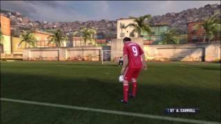 Fifa 12 - Andy Carroll's Tekkers