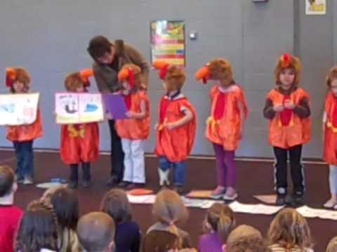 2016 Kindergarten Thanksgiving Production