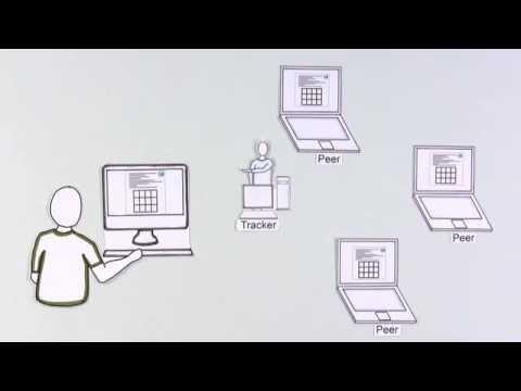How torrents work .