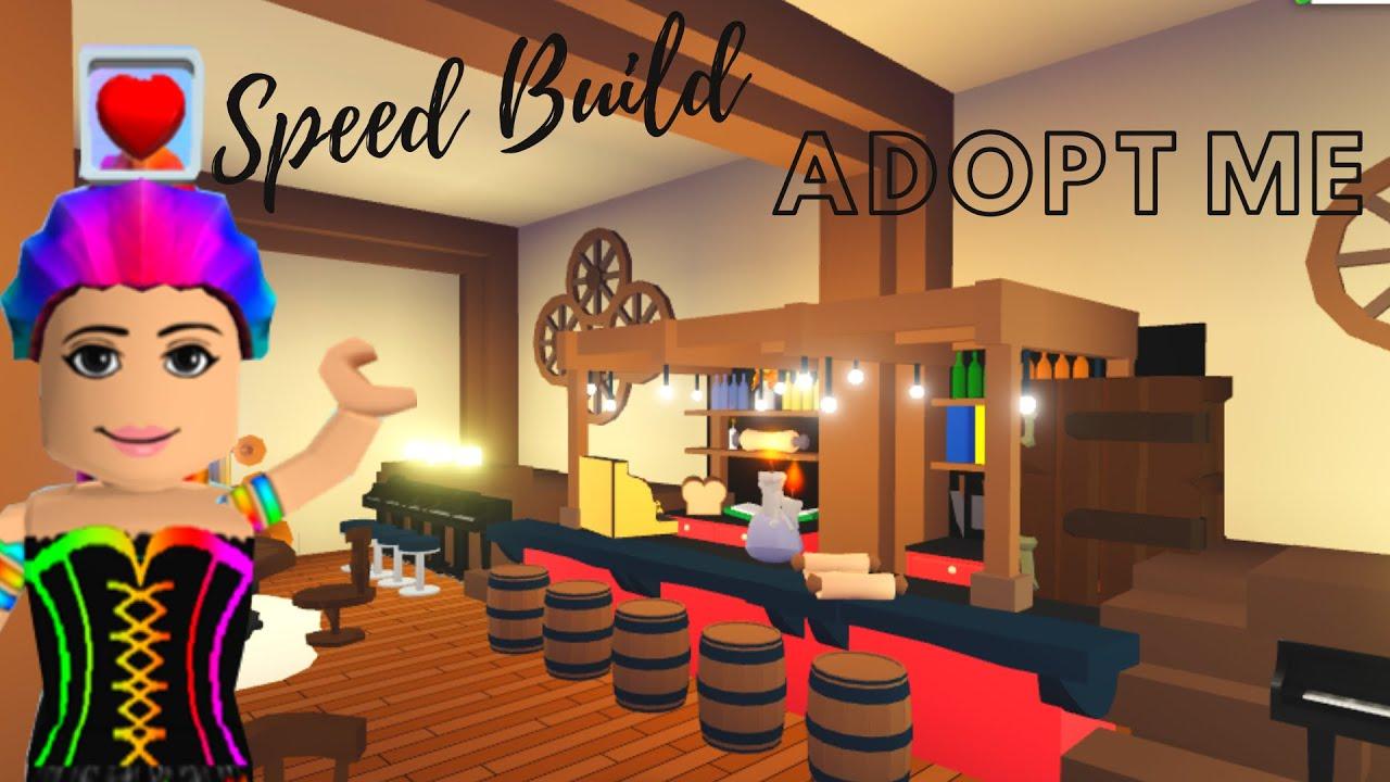 Adopt Me Pirate House Adopt Me New Update Adopt Me Speed Build Adopt Me Living Room Youtube