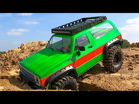 Chevrolet Blazer and Mercedes - MUD and OFF Road Adventure