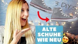 3 einfache & günstige Schuh DIY
