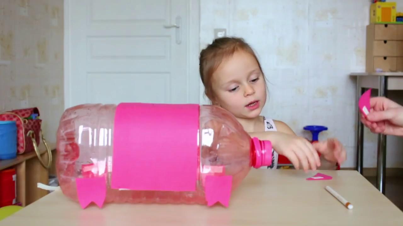Как сделать своими руками поросят из пластиковых бутылок своими руками фото 473