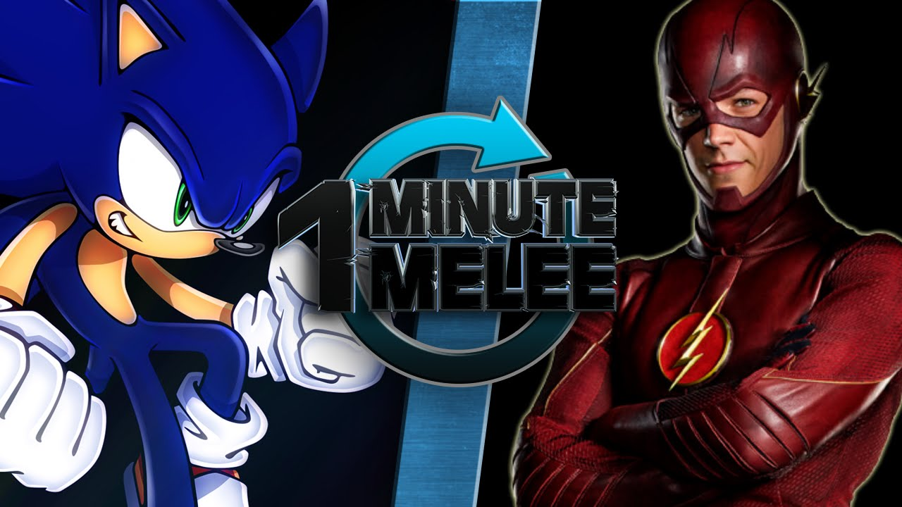 One Minute Melee Sonic The Hedgehog Vs The Flash Sega