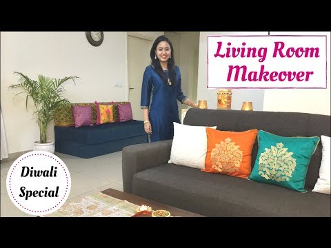 last-minute-diwali-decoration-ideas-|-living-room-makeover-|-her-fab-way