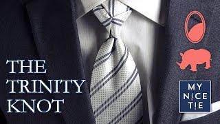 How to Tie a Tie: THE TRINITY KNOT
