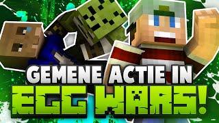 GEMENE ACTIE IN EGG WARS!