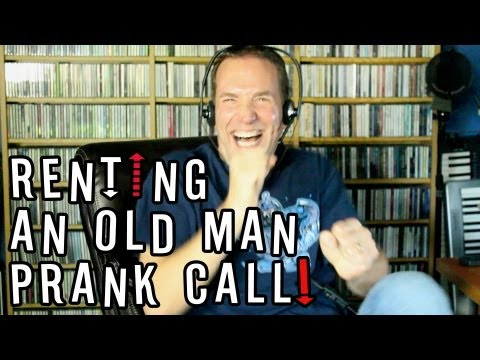 RENTING AN OLD MAN (Prank Call)