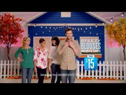 Old Navy Commercial,  It's a New Blouse