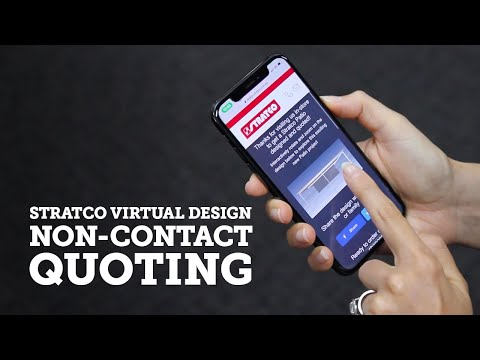 No Contact Quoting with the Stratco Live Link