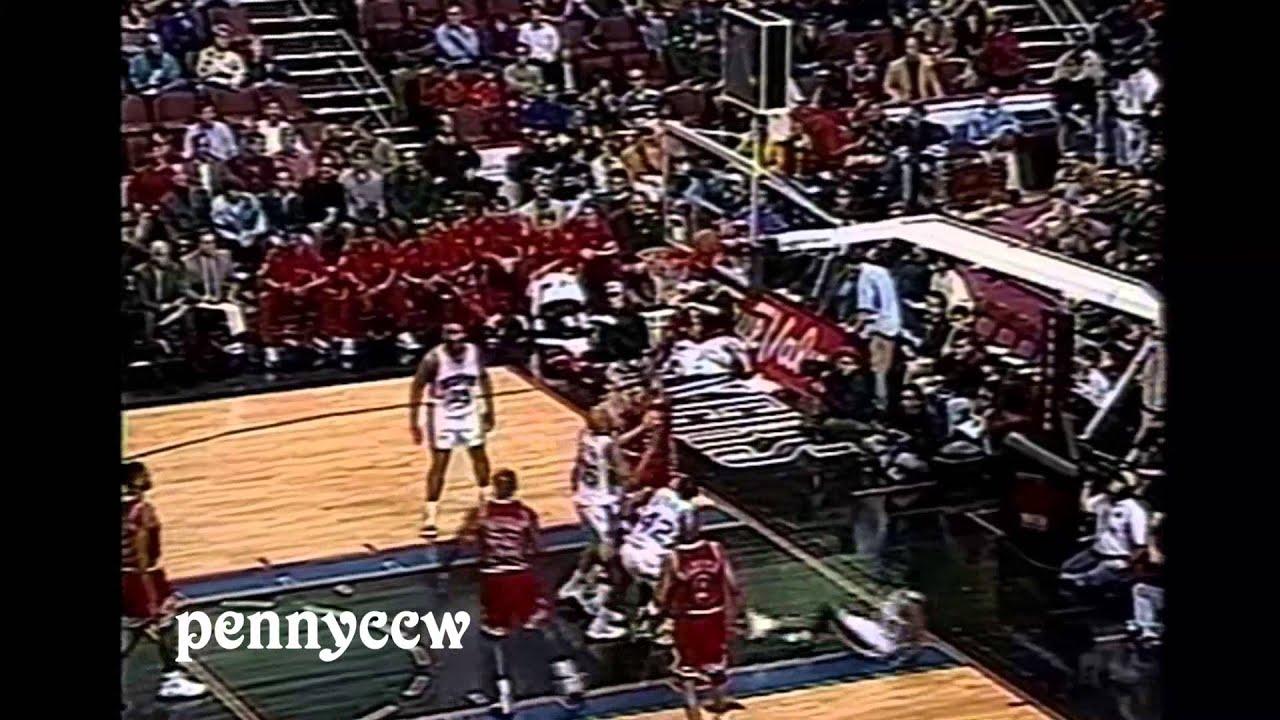 ae8fe87909af NBA Greatest Duels  Allen Iverson vs. Michael Jordan (1997)  Crossover on MJ