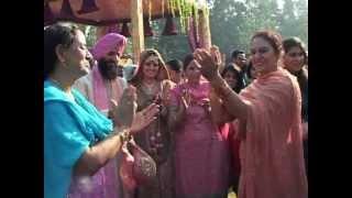 Wedding International Shooter Avneet K Sidhu + Indian Hockey team Captain Rajpal Singh
