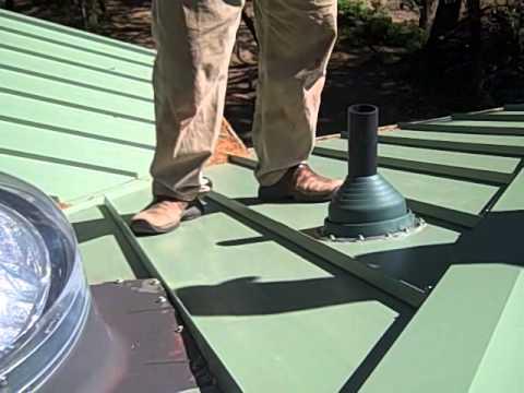 Recorrido por un techo de chapa youtube - Se puede poner una chimenea en un piso ...
