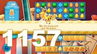 Candy Crush Soda Saga Level 1157 (No boosters)