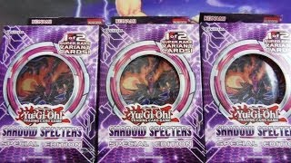 Luckiest Yugioh Shadow Specters Special Edition X3! Booster Pack Opening EVER!!