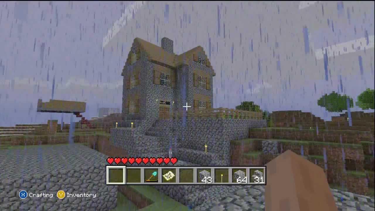 Minecraft Xbox 360 Edition: Cobblestone House   YouTube