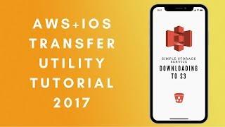 AWS x iOS: Upload an image to S3 using TransferUtility