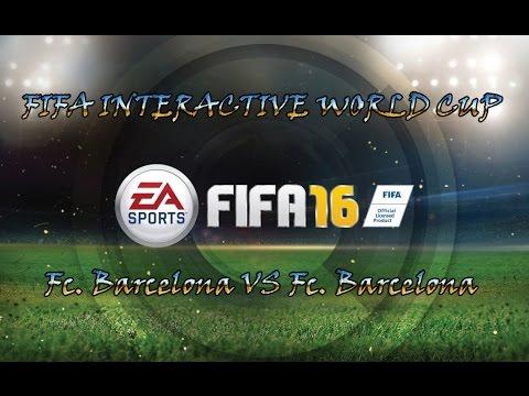 Fifa 16 - Temporada Online - Fifa Interactive World Cup - Fc. Barcelona VS Fc.Barcelona