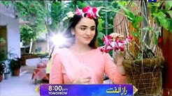Catch Raaz-e-Ulfat tomorrow at 8:00 PM only on Geo TV