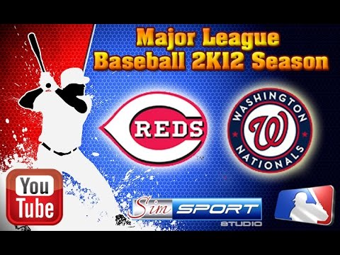 Cincinnati Reds-Washington Nationals. MLB2K12