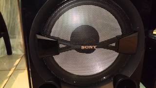 Sony Shake 7 Bass Test
