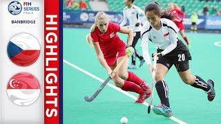 Czech republic v singapore   women's fih series finals match 4 highlights
